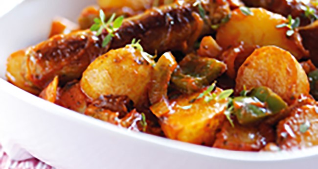 Sausage and potato casserole recipe