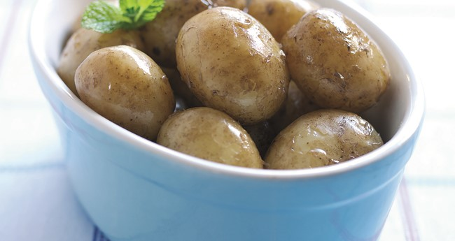Boiled new potatoes recipe