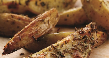 Potato wedges homemade style recipe
