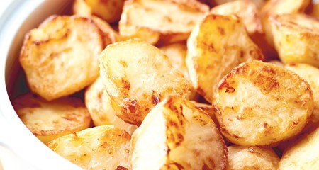 Roast potatoes perfection