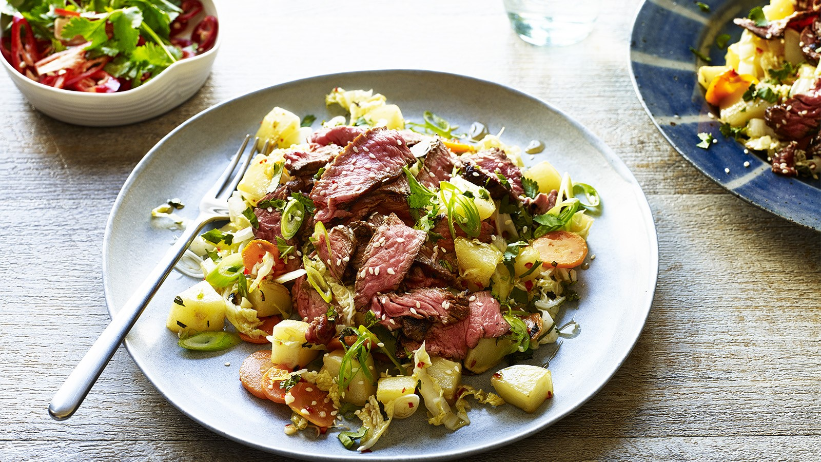 Thai Beef and Potato Salad