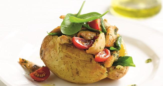 Recipes jacket potato toppings