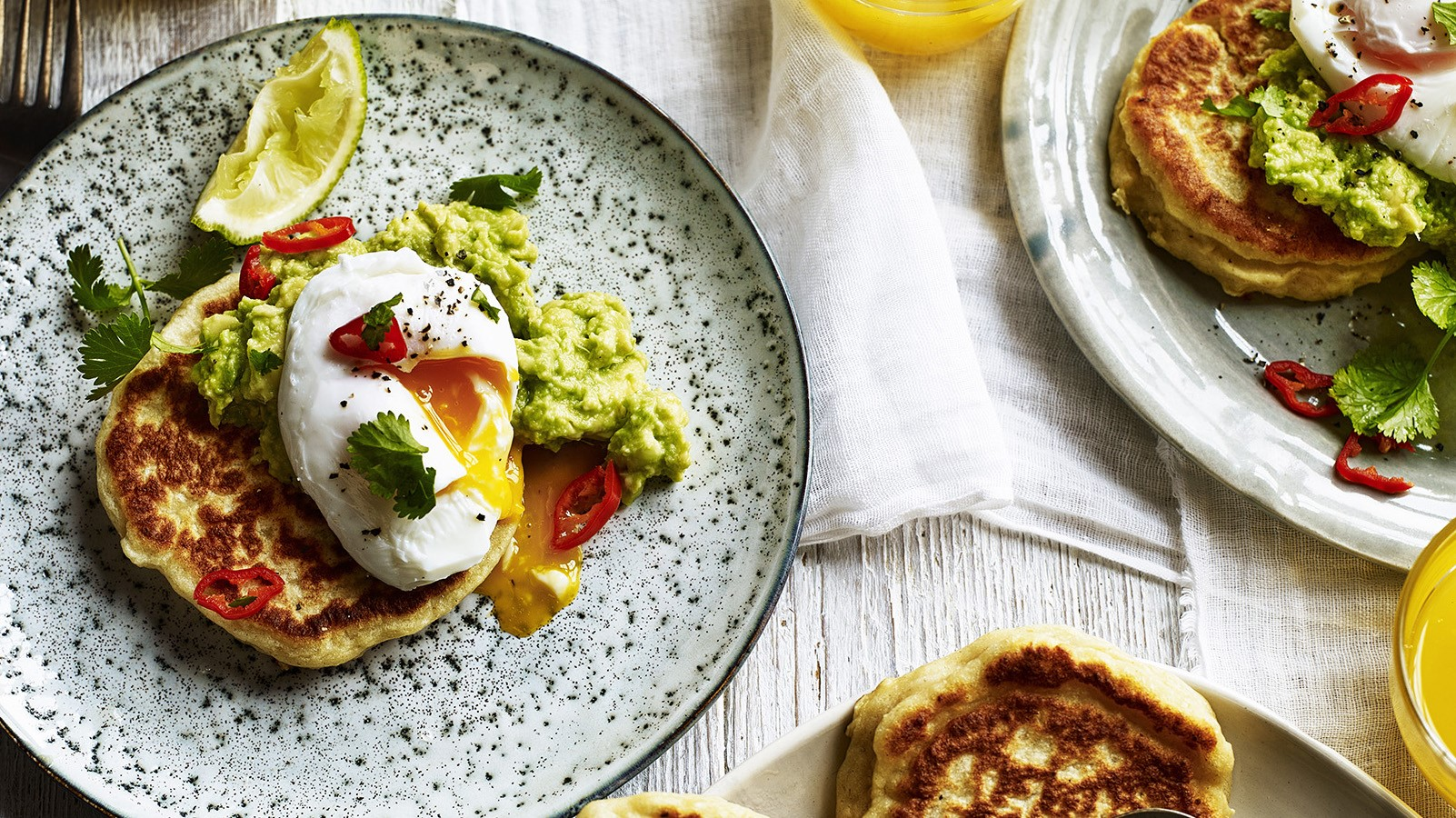 Aussie Style Potato Scones with Avocado
