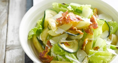 Potato Caesar salad recipe
