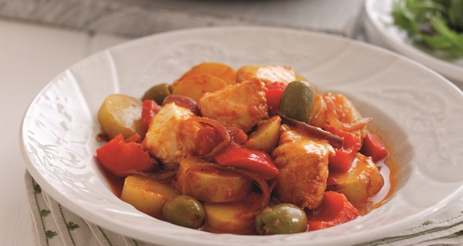Spanish fish stew potato recipe love potatoes for Fish stew with potatoes
