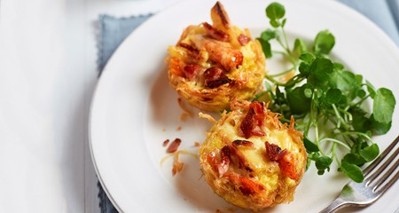 Potato Cup Frittatas