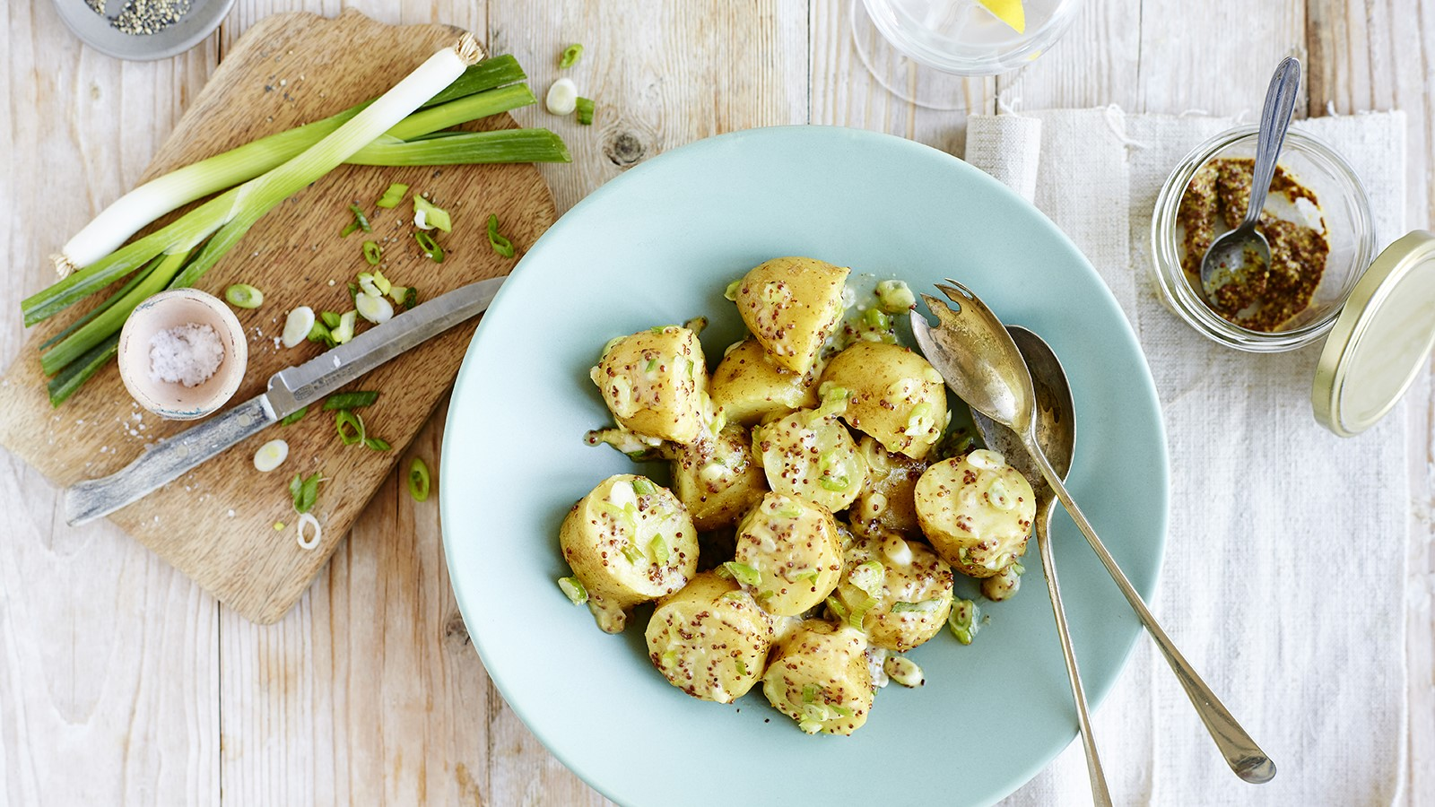 Easy recipe for mustard potato salad