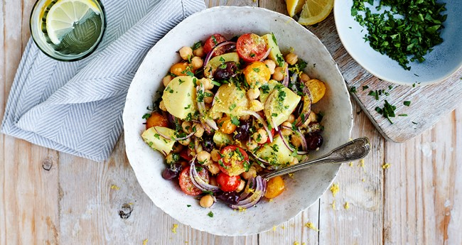 Greek Potato Salad with Lemon Recipe | Love Potatoes