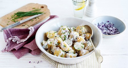 Creamy new potato salad recipe
