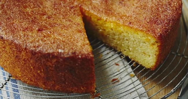 Jo Pratt's Sticky Orange Potato Cake Recipe