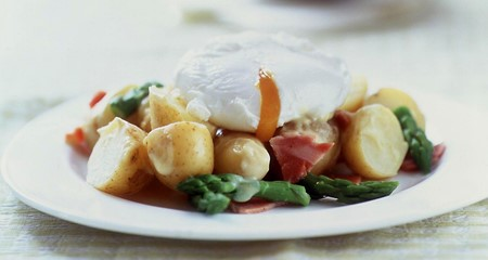Potato Salad with Suffolk Ham and Asparagus Recipe