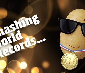 Potato World Records, Most Mashed Potatoes and Heaviest