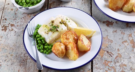 Cheat's Fish and 'Chip' Roasties Recipe