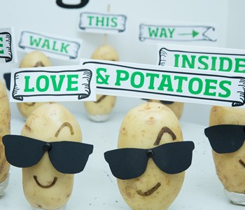 Renowned food blogger celebrates potatoes at a supper club in her London deli