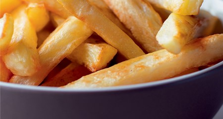 Oven chips homemade style recipe