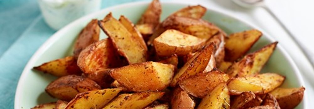 Spicy Homemade Potato Wedges